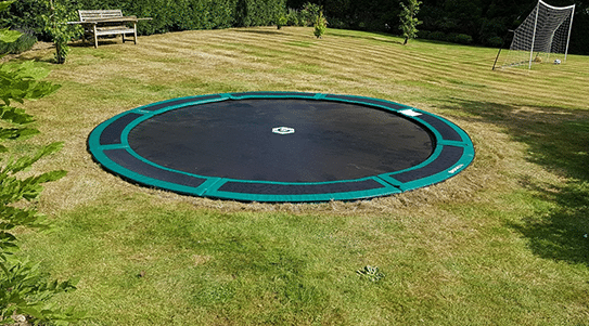Easy install inground trampolines for sale
