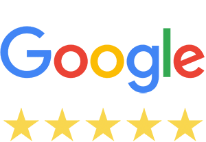 5 star rating for The Jump Shack on Google