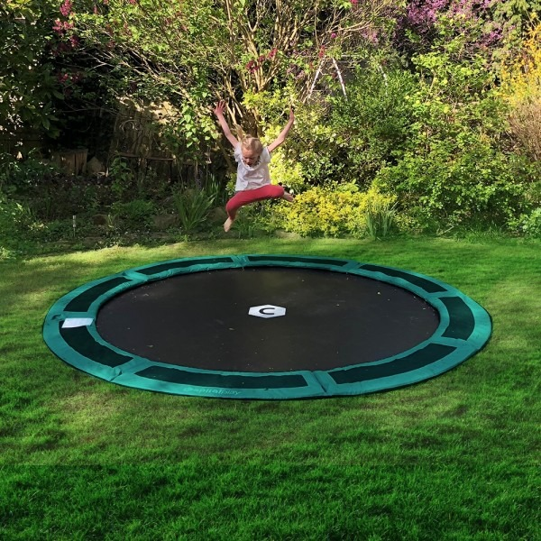 10ft Capital In Ground Trampoline Kit - Green
