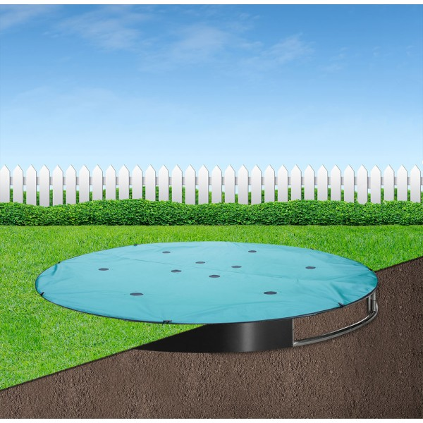 8ft Round Capital In-ground Trampoline Cover
