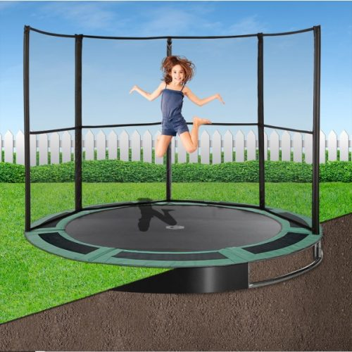 8ft Capital In-Ground Trampoline Safety Enclosure - Half