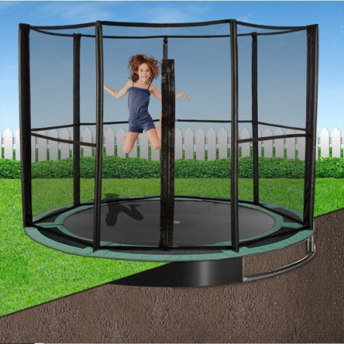 8ft Capital In-Ground Trampoline Safety Enclosure