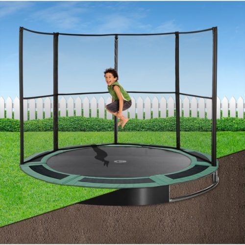 10ft Capital In-Ground Trampoline Safety Enclosure - Half