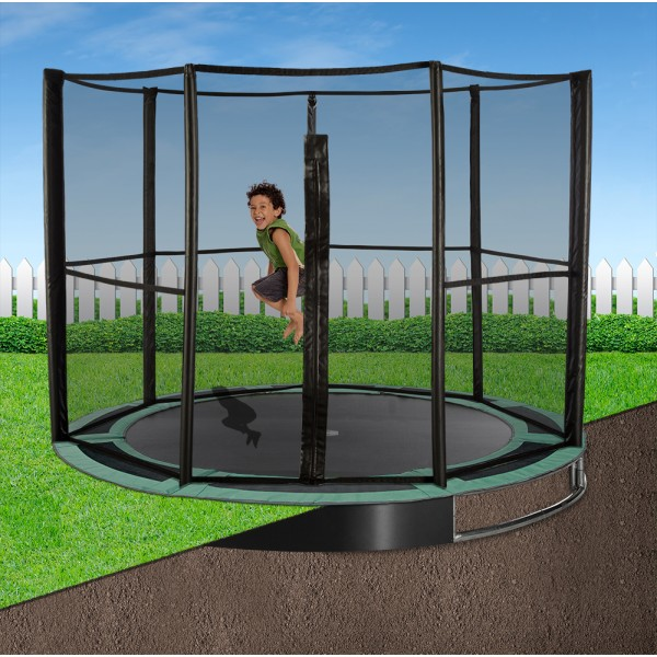 10ft Capital In-Ground Trampoline Safety Enclosure - Full