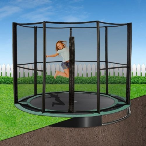 14ft Capital In-Ground Trampoline Safety Enclosure - Full
