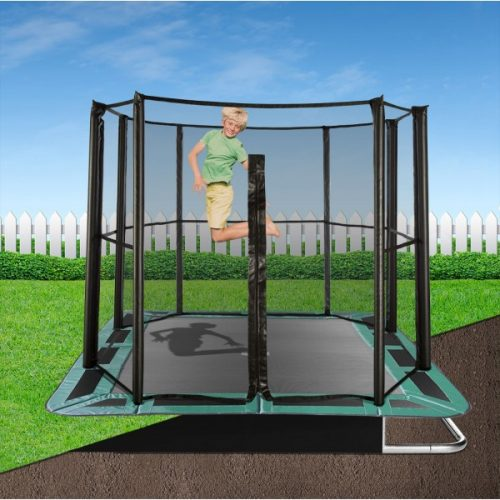 11ft x 8ft Capital In-Ground Trampoline Safety Enclosure - Full