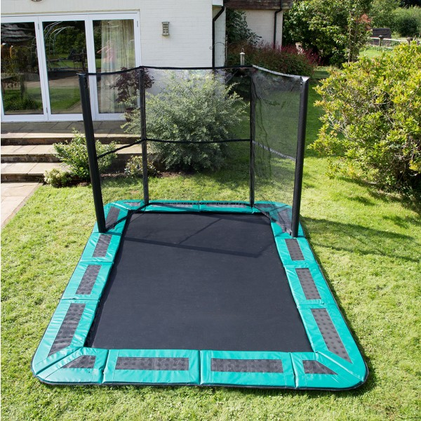 11ft x 8ft Capital In-Ground Trampoline Safety Enclosure - Side