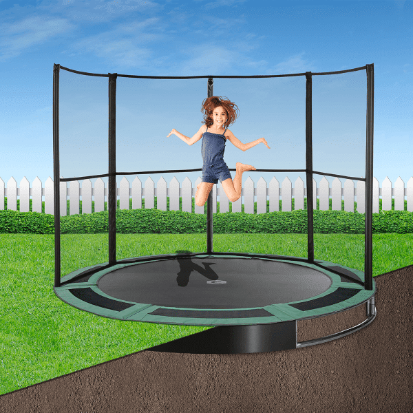 8ft Capital In Ground Trampoline Kit