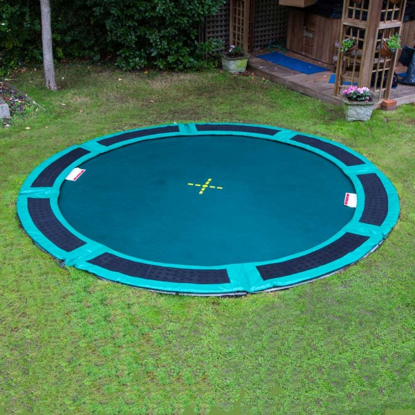 Trampolines Down Under Vented Trampoline Pads - Green