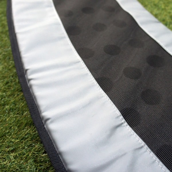 11ft x 8ft TDU Vented Trampoline Pads - Gray